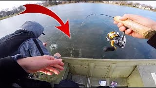 ice-fishing-from-a-jon-boat-big-catch