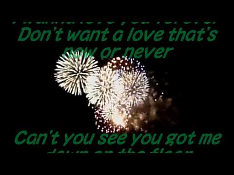 HEART Will you be there (in the morning) with Lyrics & FireWorks