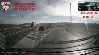 Presretač Škoda Superb-obilaznica oko Beograda !!!