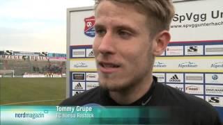 SpVgg Unterhaching gegen Hansa Rostock - 24. Spieltag 13/14 - Nordmagazin