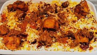 HOW TO MAKE MEAT BIRYANI   BIRYANI   BIRYANI RECIPE   SWAHILI KENYAN BIRIANI.