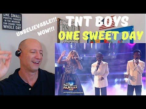 TNT BOYS - ONE SWEET DAY(Mariah Carey, Boyz II Men) | Your Face Sounds Familiar Kids 18 | REACTION