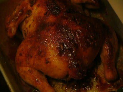 Как готовить курицу с медом в духовке