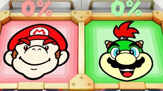 Super Mario Party MiniGames - Mario Vs Bowser Jr Vs Koopa Vs Dry Bones (Master Cpu)