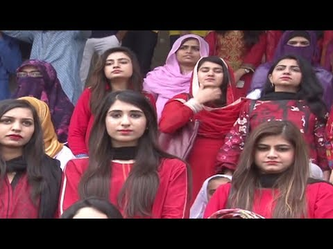 Eighth sports event starts at Allama Iqbal Medical College.