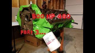 500 hp budget 460 build part 3