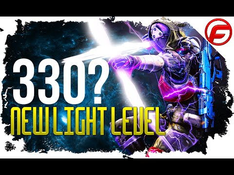 Destiny LIGHT LEVEL INCREASED Weapons 330 light Drops and Hard Kings Fall Raid Light Level 330?