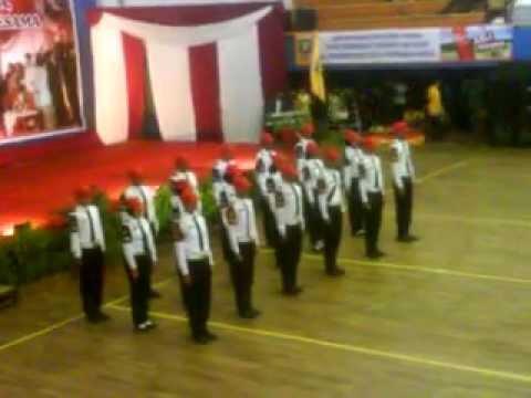 PBB Variasi PASKIBRA Kota Bandar Lampung