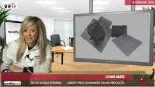 Chair Mats Video |euroffice