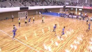 平成24年第21回JOCジュニアオリンピックカップハンドボール大会 福井VS岡山(男子予選リーグ)
