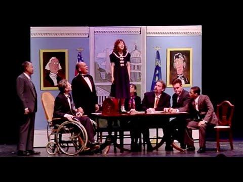 Annie Cabinet Scene