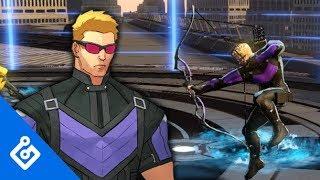 Exclusive Hawkeye Gameplay - Marvel Ultimate Alliance 3