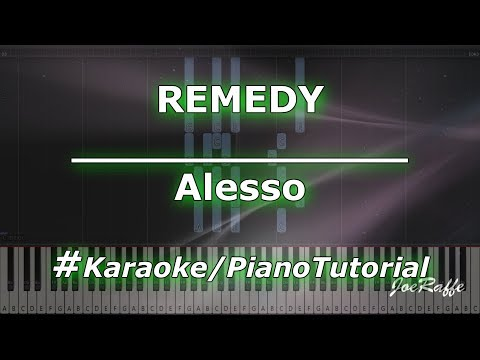 Alesso - REMEDY KaraokePianoTutorialInstrumental
