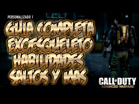 GUIA COMPLETA DEL EXO-ESQUELETO (SALTOS, HABILIDADES...) - ADVANCED WARFARE - SOKI