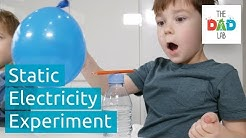 Simple Static Electricity Experiment For Children