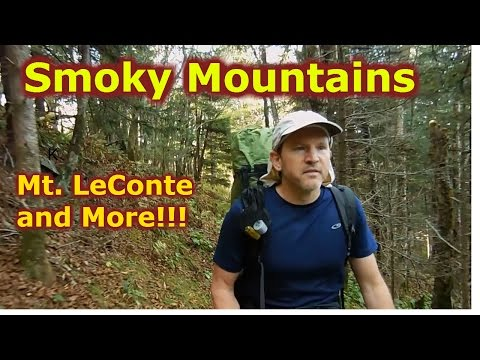Mt. LeConte 3-night Backpacking Hiking Loop Great Smoky Mountain National Park