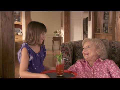 Babysitting with Betty White | Betty