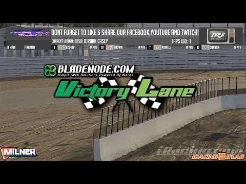 Team VLR Throwback Series IracingIflag Clash @ Knoxville Raceway