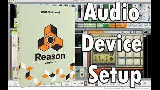 Reden Audio-Apparaat Instellen