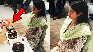 Jhanvi Kapoor (Sridevi Daughter ) Crying While Celebrating her Birthday