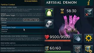 Jagex added the familiar rework you didn't know you wanted