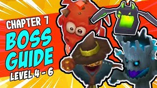 ARCHERO: Chapter 7 BOSS Guide Level 4 - 6 | Tips & Tricks | Scarecrow, Fire Pig, Bat & Tree Boss