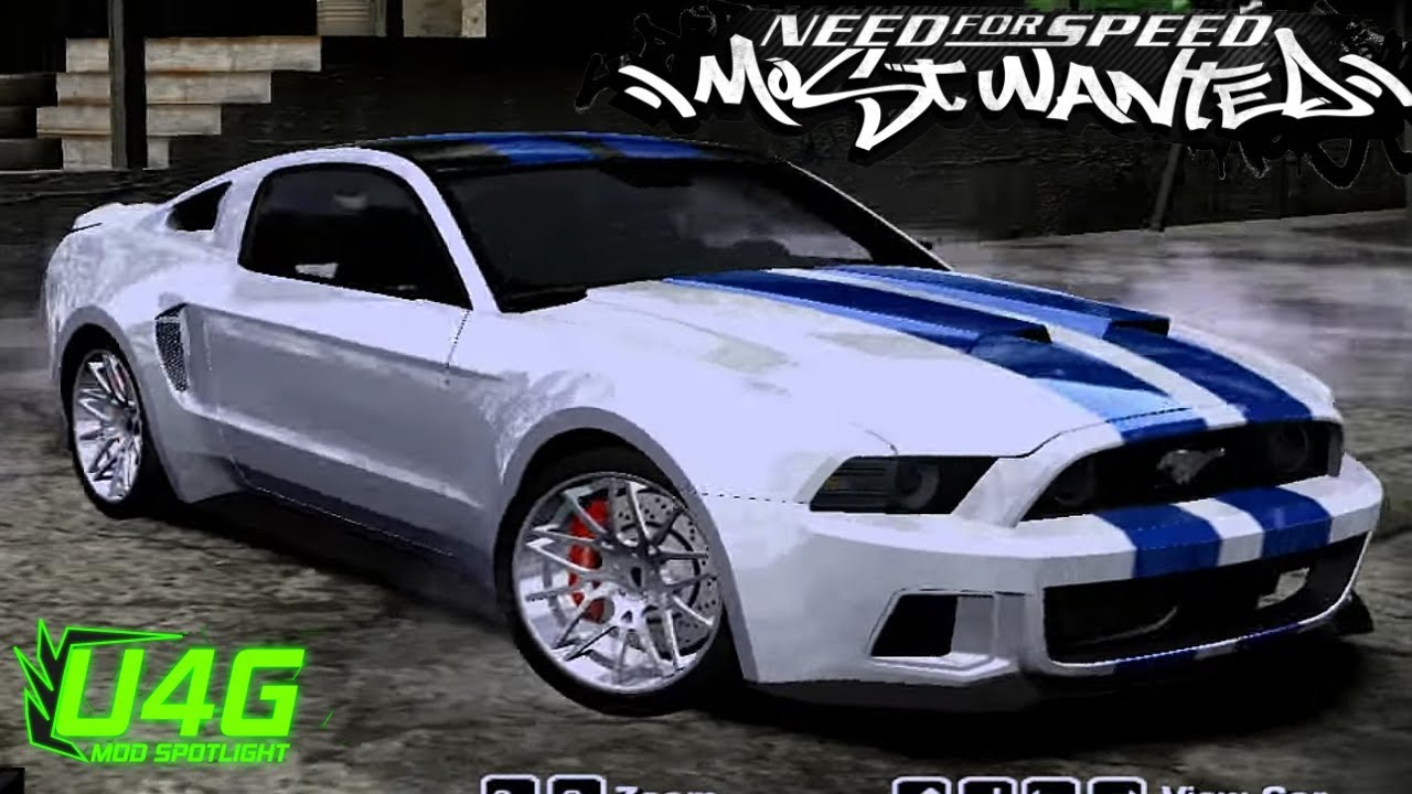 Need for speed movie ford mustang shelby gt500 nfs most wanted 2005 mod spotlight