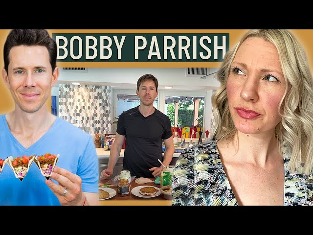 Dietitian Reviews Flavcity's Bobby Parrish What I Eat in a Day (Ugh this one was ROUGH to watch!)