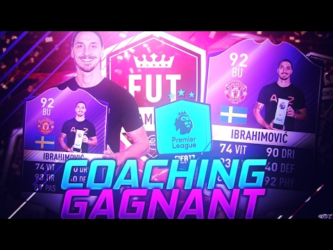 FUT 17 | COACHING GAGNANT SUR FUT CHAMPIONS !!
