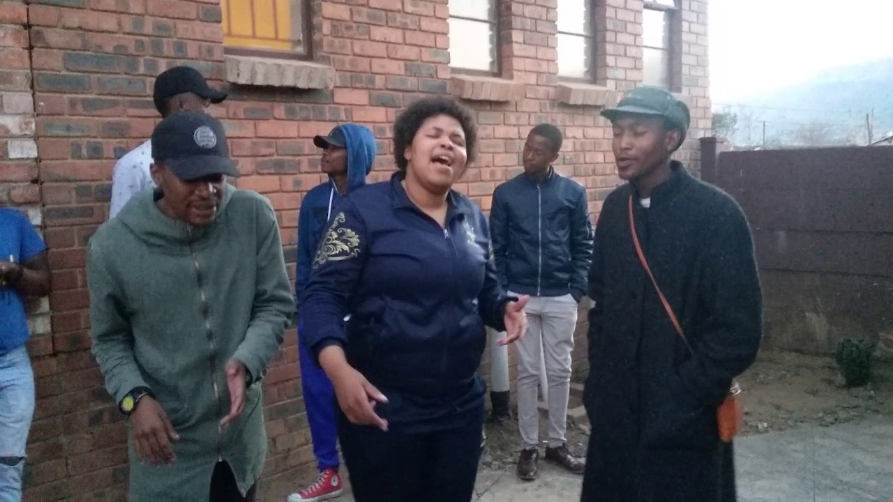 Tears of Joy acapella group in South Africa