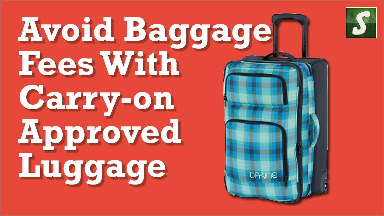 carry on luggage dimensions youtube