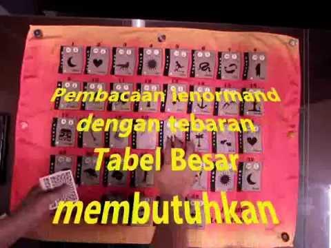 Alas Tebaran Tabel Besar Anima Lenormand [Indonesian Language]