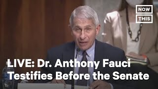 Dr. Anthony Fauci Testifies Before Senate HELP Committee | LIVE | NowThis