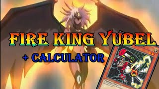 Fire King Yubel with Calculator [F2P Yu-Gi-Oh! Duel Links]