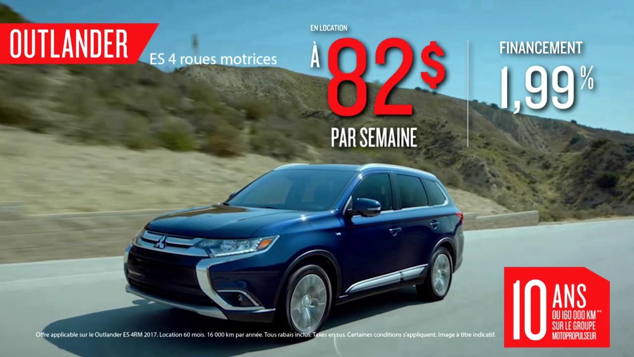 Sherbrooke Mitsubishi Outlander RVR Promotions Mars YouTube - Mitsubishi promotions