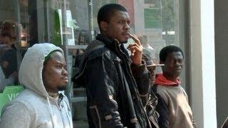"""Afrikanische Flüchtlinge: """"Deutschland ist schuld, dass wir hier sind"""""""
