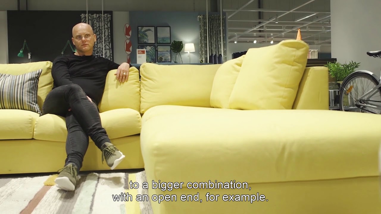 Ikea Chaise Sofa Vimle Sofa - Youtube