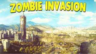 Surviving Zombie Apocalypse in Urban Wastelands | Dying Light Zombie Gameplay