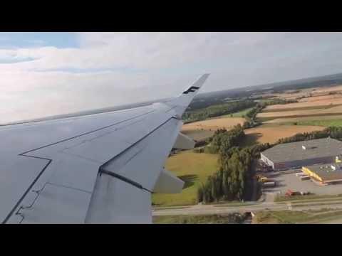 Takeoff In Helsinki To Zurich With Finnair