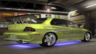 Midnight Club 3 - Mitsubishi Lancer Evolution Fast & Furious