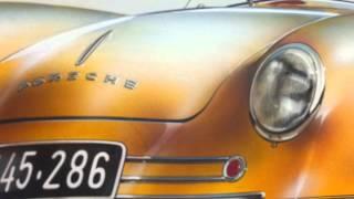 1948 Porsche 356 Drawing - Prototyp Museum - Hamburg
