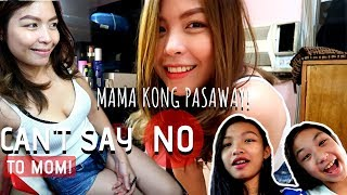 CAN'T SAY NO TO MOM! CHALLENGE | Mama Kong Pasaway! | Wild Day with Mommy Misa
