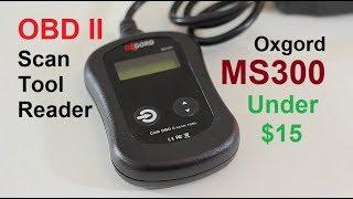 OBD II Scan Tool Reader MS300