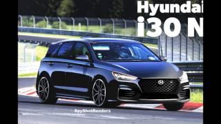 2018 Hyundai i30 N - Spy Shot Render Preview (Elantra GT N)