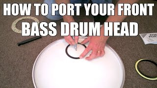 How to Port A Bąss Drum Head And Make Your Questlove Breakbeats Kick Drum Club Ready