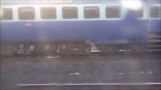 Rare Parallel Run : Alco Vs WAP 7, Ganadevta vs Shatabdi, & Check who dominated...!!