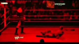 WWE kane drags zack rider to HELL 2012