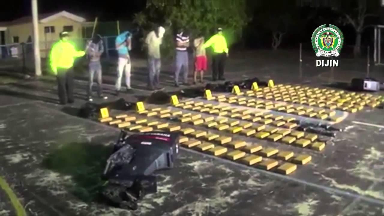 En puerto colombia incautan una lancha r pida con m s de 200 kilos de coca na youtube - Lntoreor dijin ...