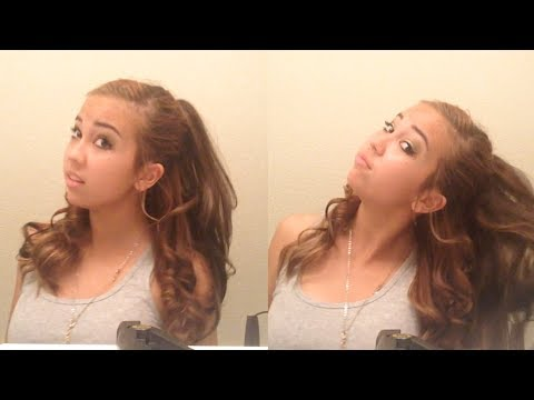 ariana grande hair tutorial - easy