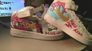 Nike Air Force 1 Makeup Artist Custom Edition